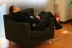 SWTokyo - too tired and falls asleep