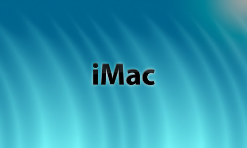 wallpaper imac. Mac Wallpaper iMac Blue 
