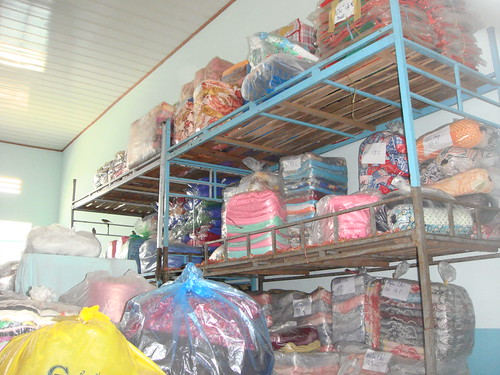 Khai Tri orphanage supply room