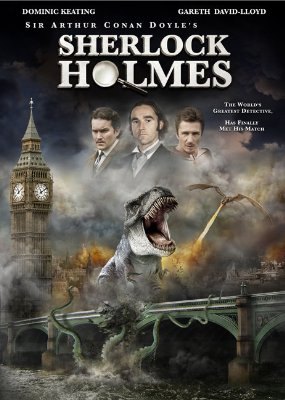 Mockbuster Sherlock Holmes T-Rex