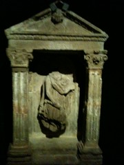 Votive statue from the temple to Mithra (radiowood) Tags: france temple strasbourg mithra
