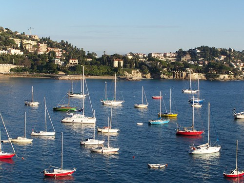Villefranche, yesterday