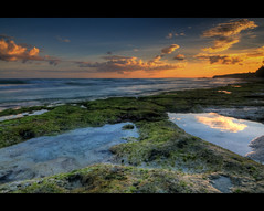 Lost in a Tide Pool (Lost In The RP) Tags: sunset moss surf waves philippines bohol algae tidepool panglao bangka bikinibeach tokina1116 nikond300s