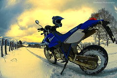 Atardecer (Rawlways) Tags: bike nikon dirt yamaha enduro d300 pingüinos piloña motorbikesmotorcyclesopentoall piloñadakar