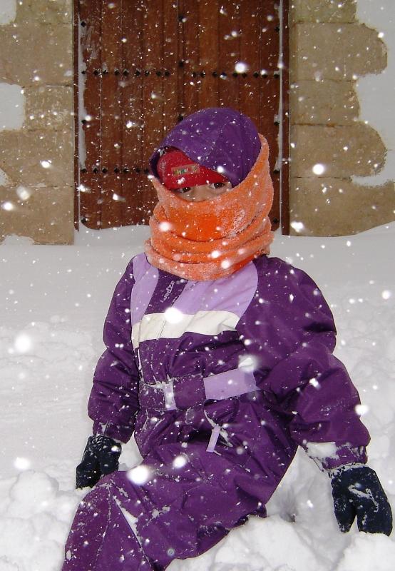 .Lucia y la nieve
