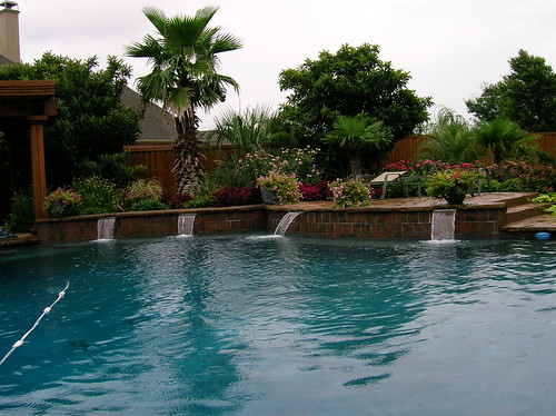 Backyard Pool Landscape Design