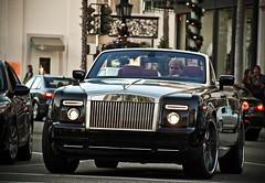 Rolls-Royce Drophead (Noah Gillard Photography) Tags: california cars car rollsroyce beverlyhills custom phantom expensive rims coupe rodeodrive drophead noahgillardphotography noahgillard