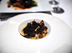 2nd Course: Caramelized Hen of the Woods Mushroom Risotto