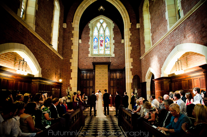 Cassy & Leon - In the Chapel (by Autumnleaf Photography)