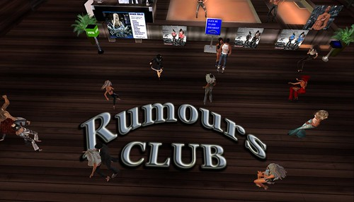 rumours club party in second life