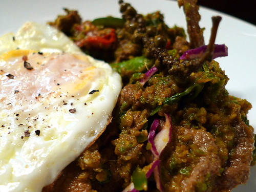 Jitlada Dynamite & Eggs (at home)
