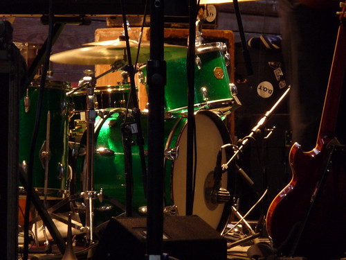 Green drum kit
