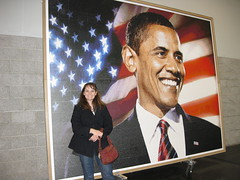 Giant Obama Picture