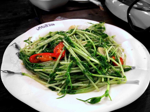 Stir-Fry Pea Shoots