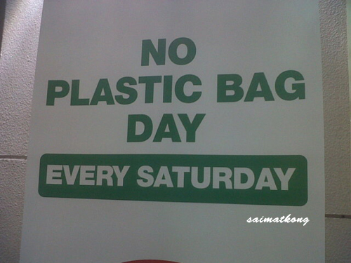 Selangor - No Plastic Bag Day Every Saturday