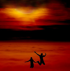 Jump for Joy (DianeRocks Thanks a Million viewers :-)) Tags: family sunset love beautiful smile fog loving lady clouds inmemory peace julia tomatoes joy special giving breathtaking afriend celebrationoflife nurturing amother awife breathtakinggoldaward gratitued breathtakinghalloffame straighttalking agrandmotherasisteranaunt
