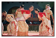 Pangsau Pass Winter Festival 2010 : Bihu Dancers (Arif Siddiqui) Tags: travel costumes girls portrait people woman india green heritage history tourism nature colors beauty festival forest portraits river landscape glamour colorful asia paradise folk traditional wwii scenic festivals culture lifestyle places tribal east hills tribes serene local raod tradition ethnic assam northeast cultures cultural arif arunachal pepa pristine ledo stillwell dances changlang tribals siddiqui arunachalpradesh sceninc monpa northeastindia bihu jairampur peopleofindia attires itanagar arunachalpradeshindia pangsaupass nampong arunachali pangsaupasswinterfestival ppwf ppwf2010