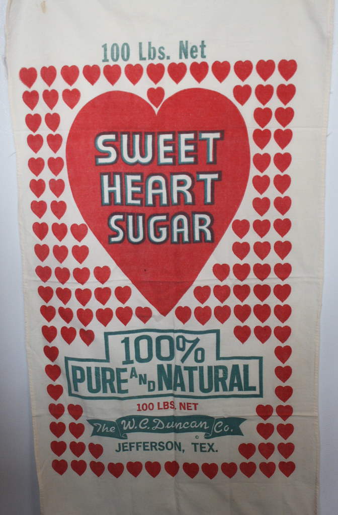 sweet heart sugar sack