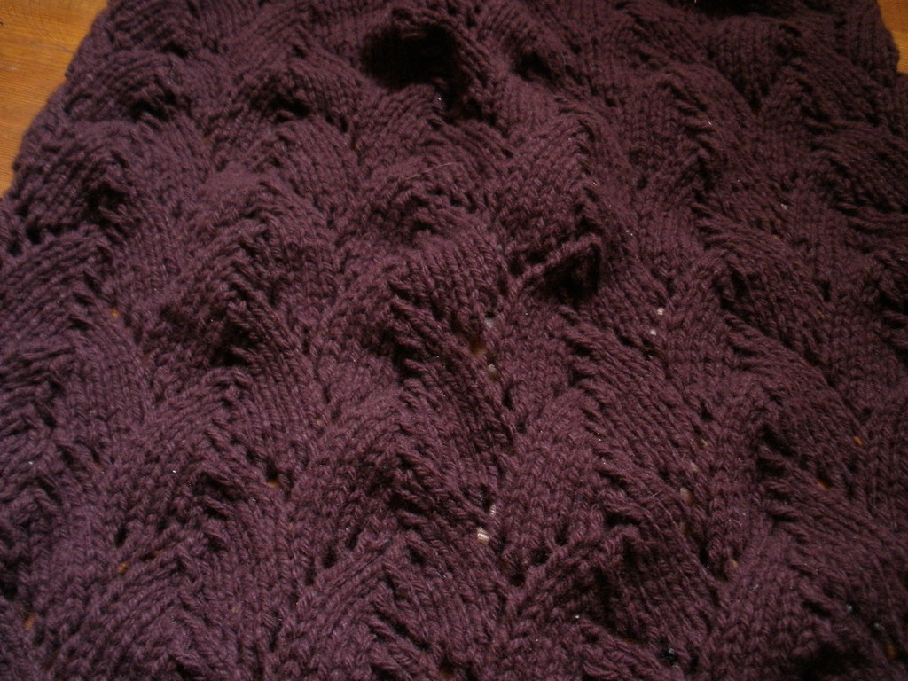 on the needles, w.i.p