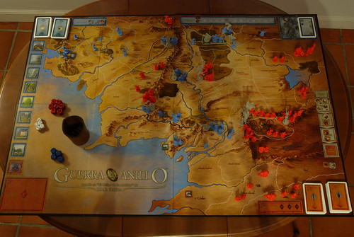 La Guerra del Anillo (The War of the ring): Initial setup