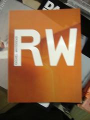 Rachel Whiteread book (matthewgrocott) Tags: book cover