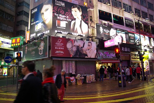Causeway Bay on Lunar New Year