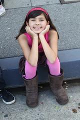 My Daughter Jaclyn at LA Street Food Fest
