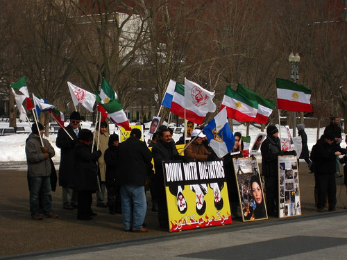 From flickr.com: Iran Protesters {MID-224796}