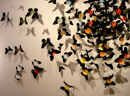 Beecan Butterflies at the MAD Museum of Arts & Design, New York by l-l-l-l-l