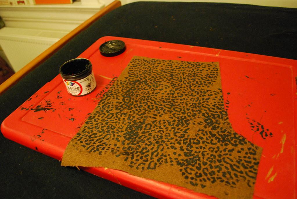 handmade: Leopard Shorts