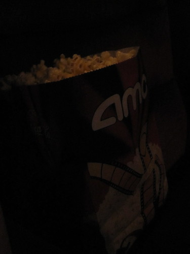 Popcorn - $6.25, free soda thanks to AMC card