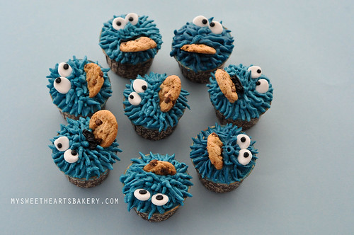 Cookie Monster Cookie