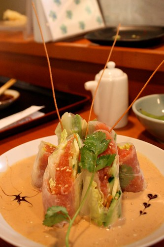Tabento- Spicy Tuna Spring Rolls