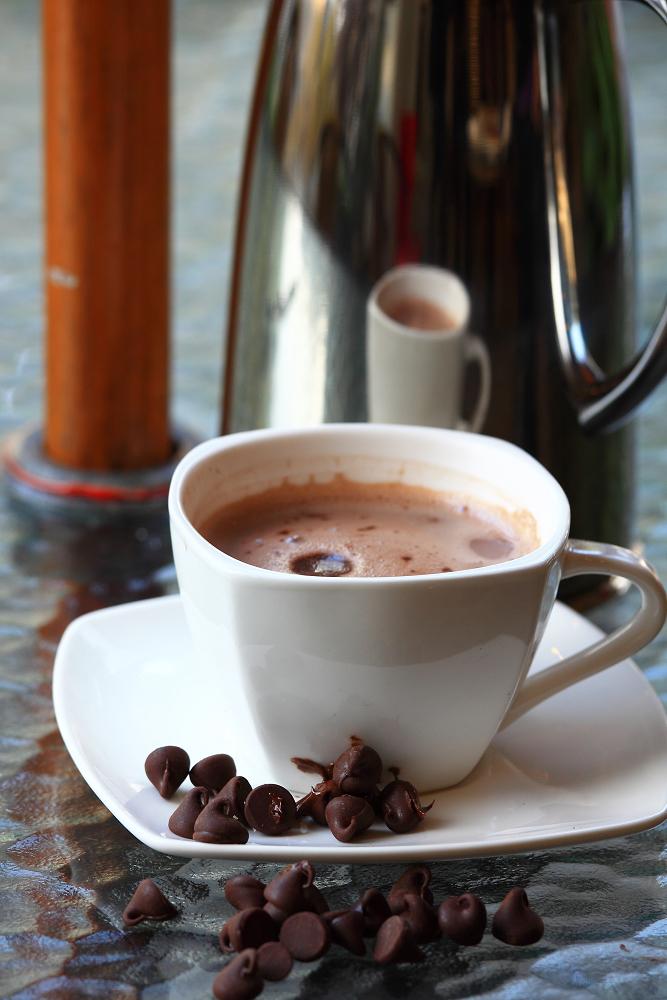 冬天一定要來杯的巧克力