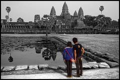 Prasat Angkor Wat (eneko123) Tags: cutout temple cambodge cambodia kambodscha southeastasia cambodian khmer almostbw kingdom siem reap 5d vat angkor wat templo cambodja kemboja kamboja eneko123 柬埔寨 camboya カンボジア kampuchea kambodza cambogia campuchia reab kambuja tenplu 캄보디아 preahreachanachâk ประเทศกัมพูชา камбоджа cambyses καμπότζη कंबोडिया कम्बोजदेश kambujadesa preăhréachéanachâkkâmpŭchea srokkhmae khmerland kambodya