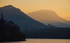 Catbells Sunset (Michael Eyes) Tags: sunset derwentwater keswick thelakes catbells