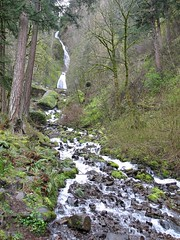 Wahkeena Falls Wayside Photo