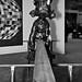 Sculpture: Sven 't Jolle: [Casse-toi alors] Pauvre Canard / Galerie Laurent Godin / The Armory Show 2010 / 20100305.7D.03981.P1.L1.C23.BW / SML