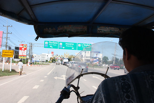 Tuk Tuk to the Laos border