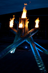 DSC_5116 (the PhotoPhreak) Tags: winter vancouver whistler fire symbol flame olympic cauldron 2010 paralympic