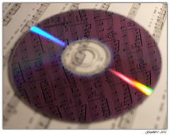 CD de Musique (Greyshift11) Tags: france lumix notes cd piano son panasonic g1 mm audio partition 45mm dmc musique guitare 1445 200mm 14mm dmcg1