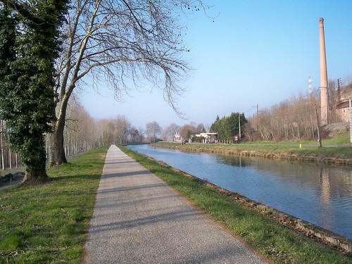 Canal du Midi near Moissac
