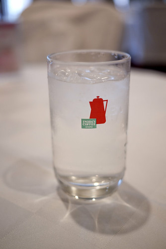 Inoda Coffee water glass