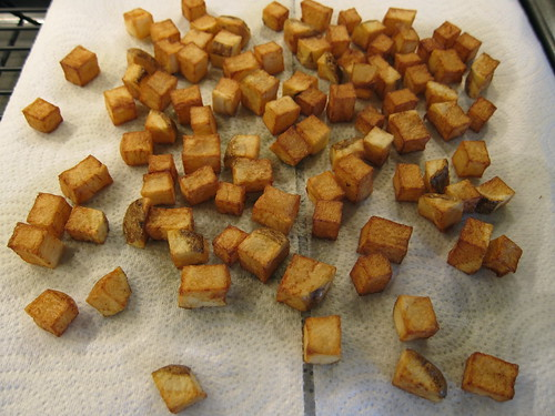 Fried Potatoes for Hash