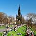 Sunny Day in Edinburgh