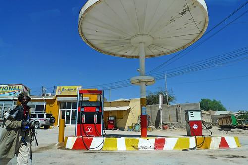 Hargeysa (Somaliland/Somalia) - Fuel station