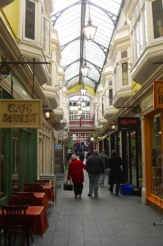 Arcade in Cardiff