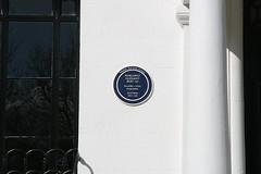 Photo of Margaret Oliphant blue plaque