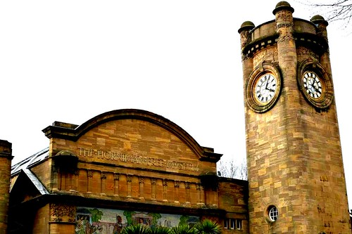 The facade of the original 1901 building at the Horniman Museum