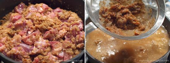 Tamarind Pork - Method 4